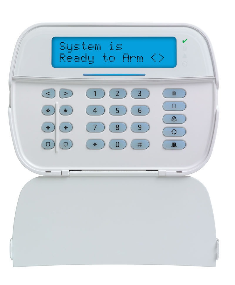 home security service panel
