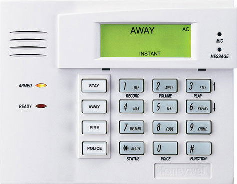 ademco honeywall security keypad