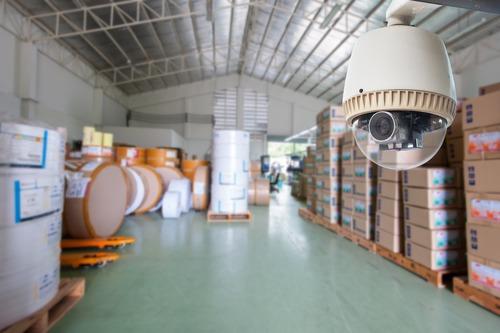 CCTV Camera warehouse or factory