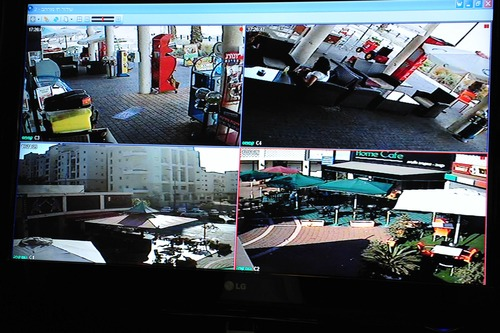 CCTV video security