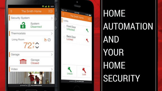 Home automation and home security system