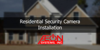 Residential Security Camera Installation